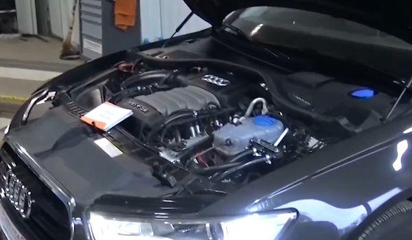 Газовое оборудование на Audi A6 2.8 FSI