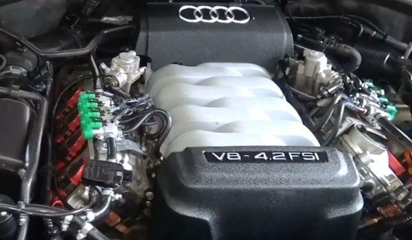 Установка гбо на Audi Q7 4.2 FSI