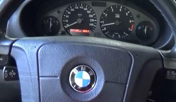 Газобаллонное оборудование на BMW 544