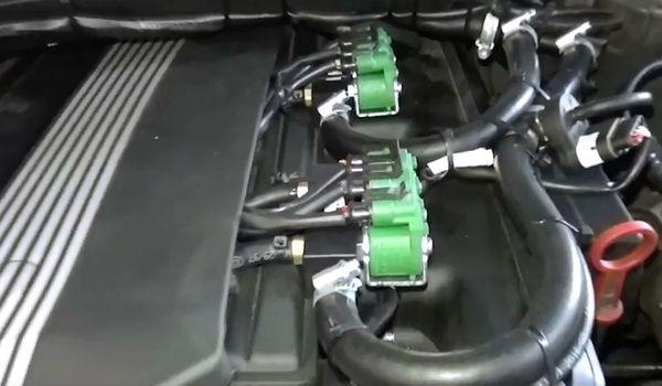 Установка гбо на BMW e46