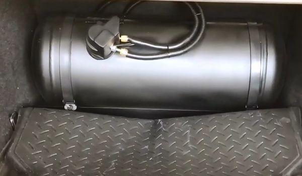 Газовое оборудование на BMW F10 2.0 TwinPower Turbo