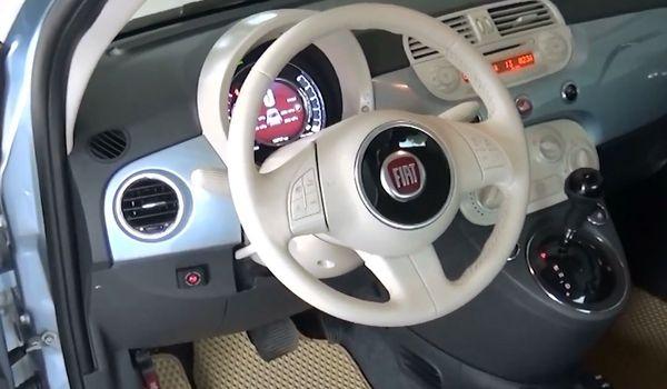 Газовая установка на Fiat 500
