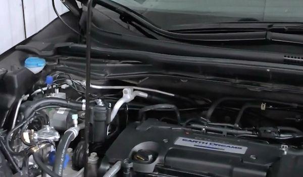 Газовая установка на Honda CRV EarthDreams