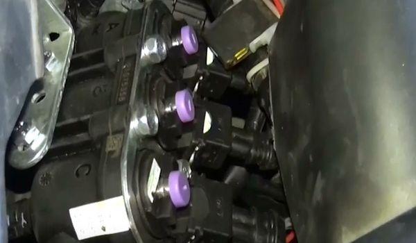 Газовое оборудование на Honda Legend 3.7