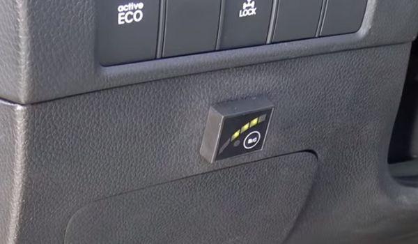 Газовое оборудование на Hyundai Santa Fe 2015