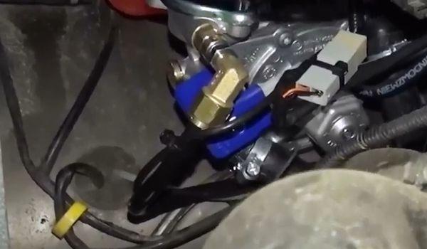 Газ на LADA ВАЗ Нива 4х4 Urban 1.7