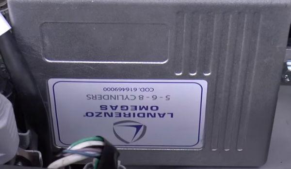 Газовая установка на Lexus LX570 V8 5.7