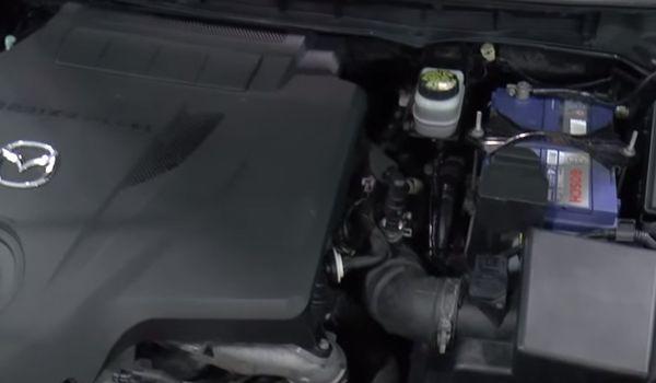 Установка гбо на Mazda CX-7 2.3T