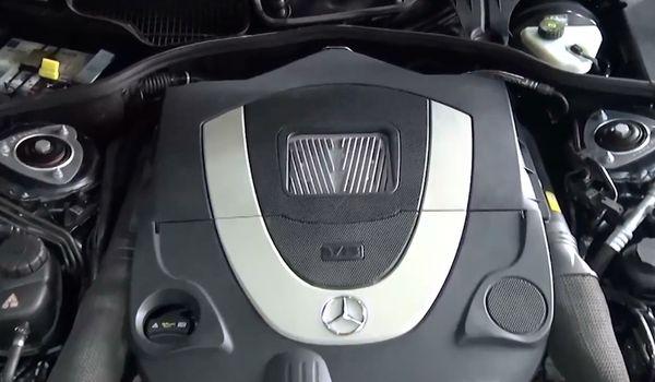Установка гбо на Mercedes Benz CL 550
