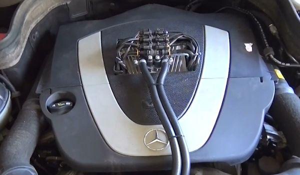Установка гбо на Mercedes Benz GLK 280