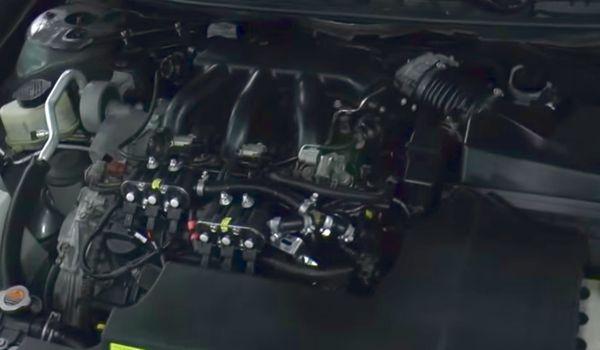 Газ на Nissan Teana 3.5