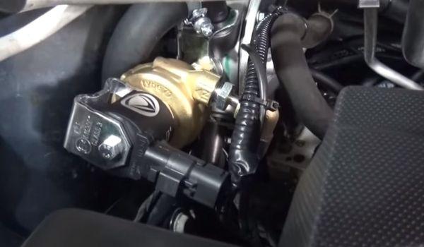 Газ на Nissan X-Trail