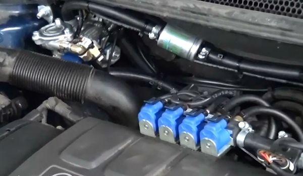 Газ на Opel Astra