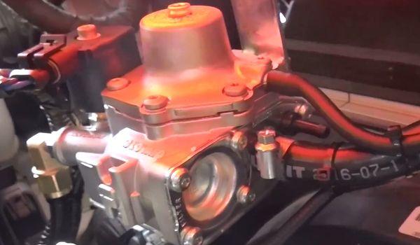 Газовая установка Opel Mokka 1.8
