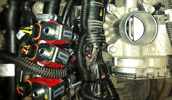 Установка гбо на Peugeot 107