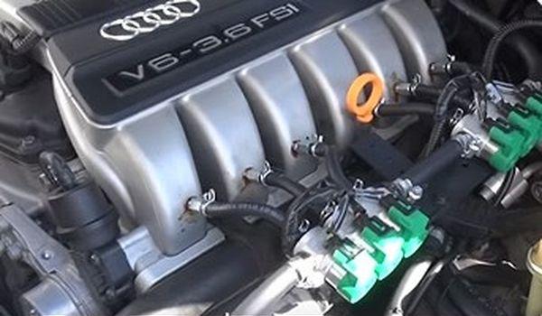 Гбо на Audi Q7 3.6 FSI