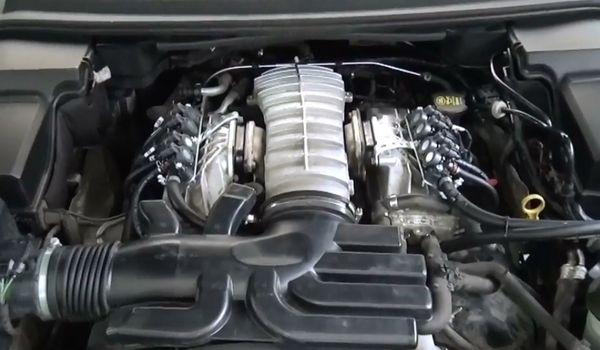 Установка гбо на Range Rover Sport 4.2
