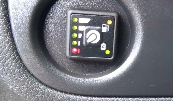Газовая установка на Renault Logan 1.2 2013