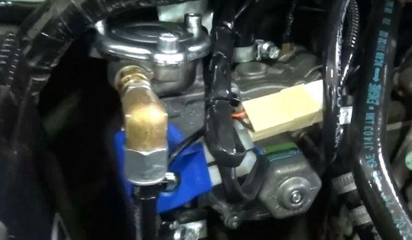 Газ на Suzuki Jimny