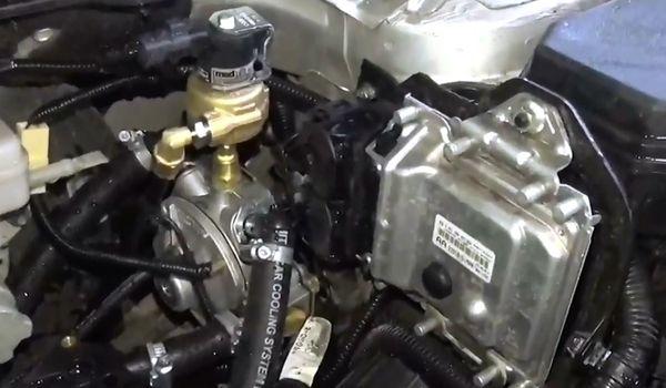Установка гбо на Suzuki SX4
