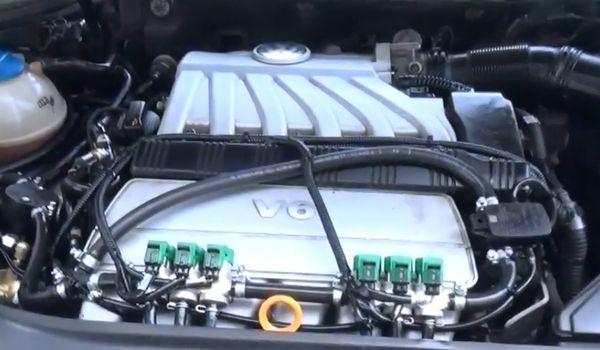 Установка гбо на Volkswagen Passat B6 3.2 FSI