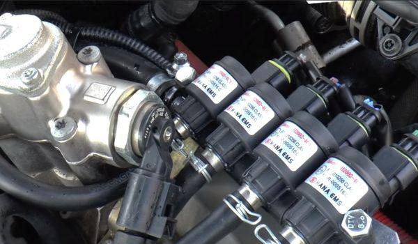 Гбо на Volkswagen Touareg V8 4.2 FSI
