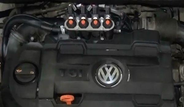Установка гбо на Volkswagen Touran 1.4 TSI