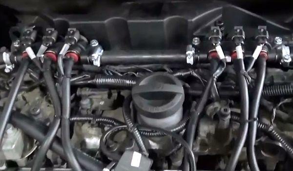 Установка гбо на Volvo XC70